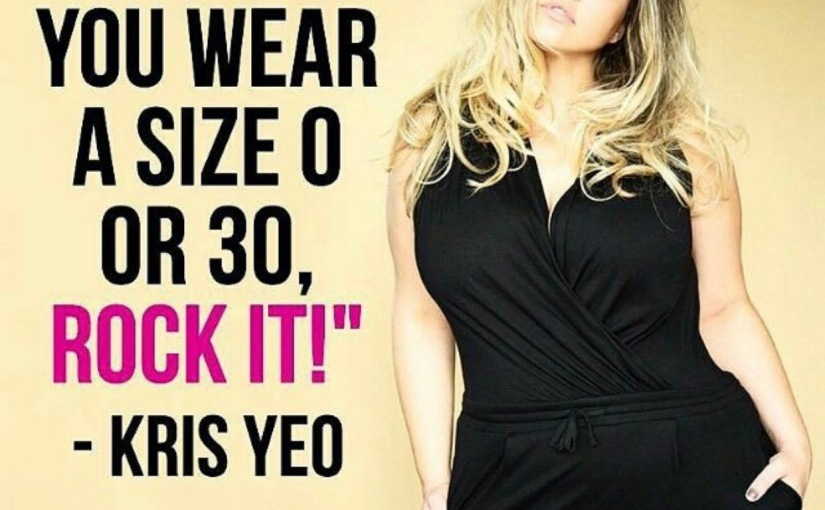 """#TBT to when I argued with """"style and curve"""" magazine about bodypositivity"""