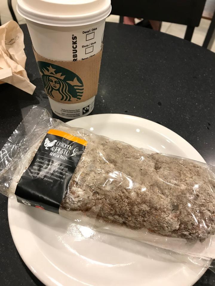 Starbucks Gluten FreeMenu