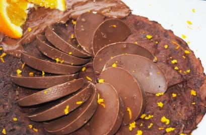 Chocolate-orange-pancakes