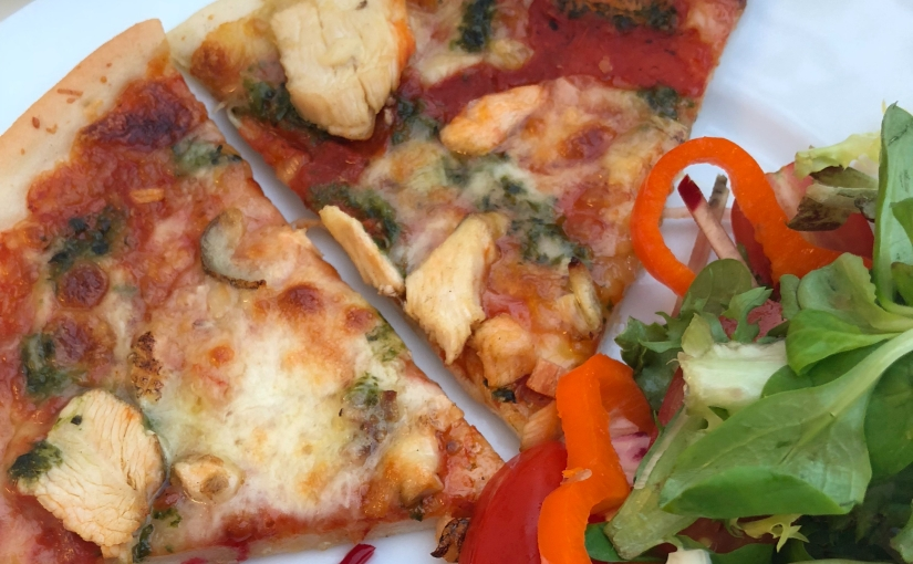 You need a Pizza' This! – Gluten Free Chicken & PestoPizza