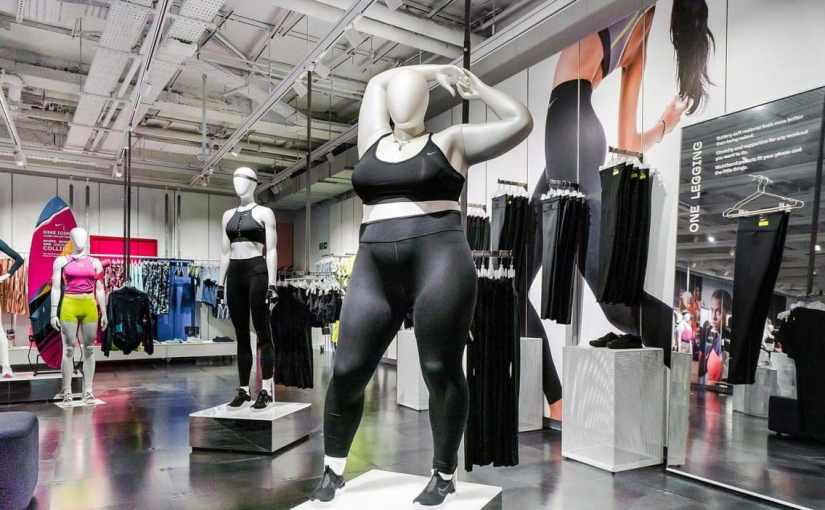 """""""Obese mannequins are selling women a dangerous lie or Nike's 'obese' mannequins are inspirational"""" – Which side are youon?"""